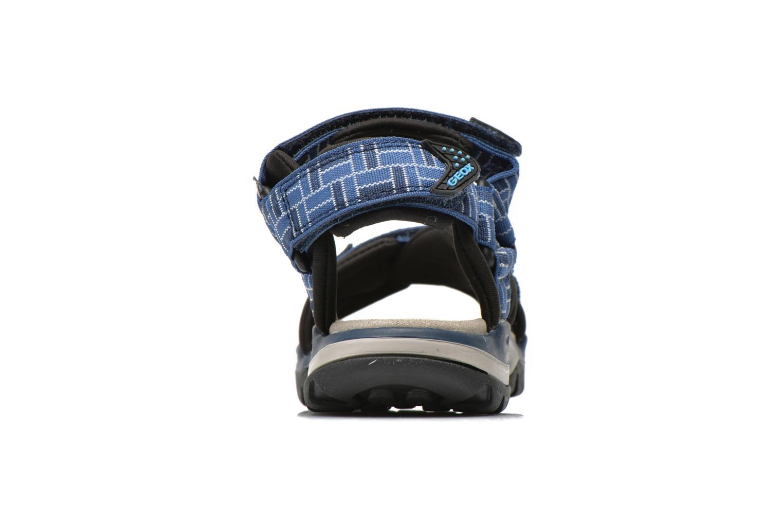 Sandales et nu-pieds Geox J Borealis B. D J620RD Bleu vue droite