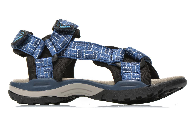 Sandales et nu-pieds Geox J Borealis B. D J620RD Bleu vue derrière