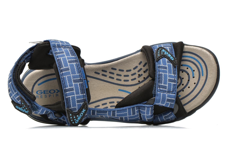 Sandales et nu-pieds Geox J Borealis B. D J620RD Bleu vue gauche