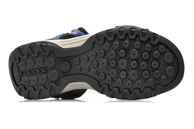 Sandales et nu-pieds Geox J Borealis B. D J620RD Bleu vue haut