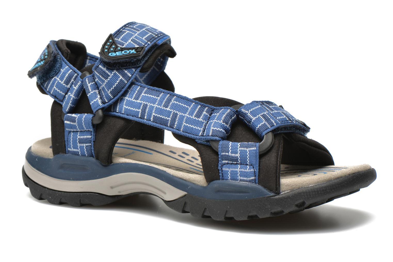 Sandales et nu-pieds Geox J Borealis B. D J620RD Bleu vue détail/paire