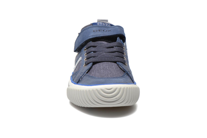 Baskets Geox J Australis B. A J620UA Bleu vue portées chaussures