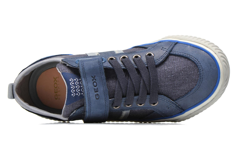 Baskets Geox J Australis B. A J620UA Bleu vue gauche