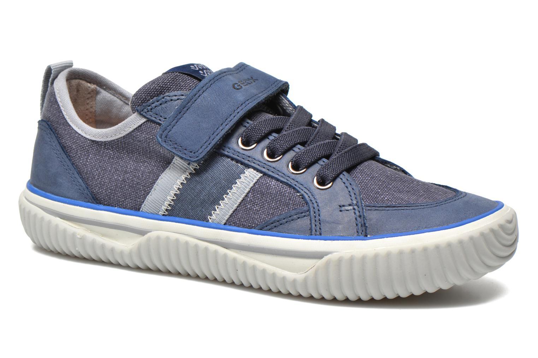 Baskets Geox J Australis B. A J620UA Bleu vue détail/paire