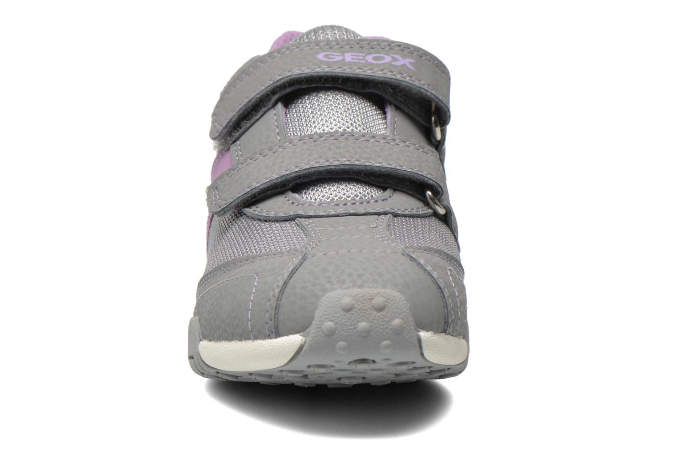 Sneaker Geox J Tale A J6221A grau schuhe getragen