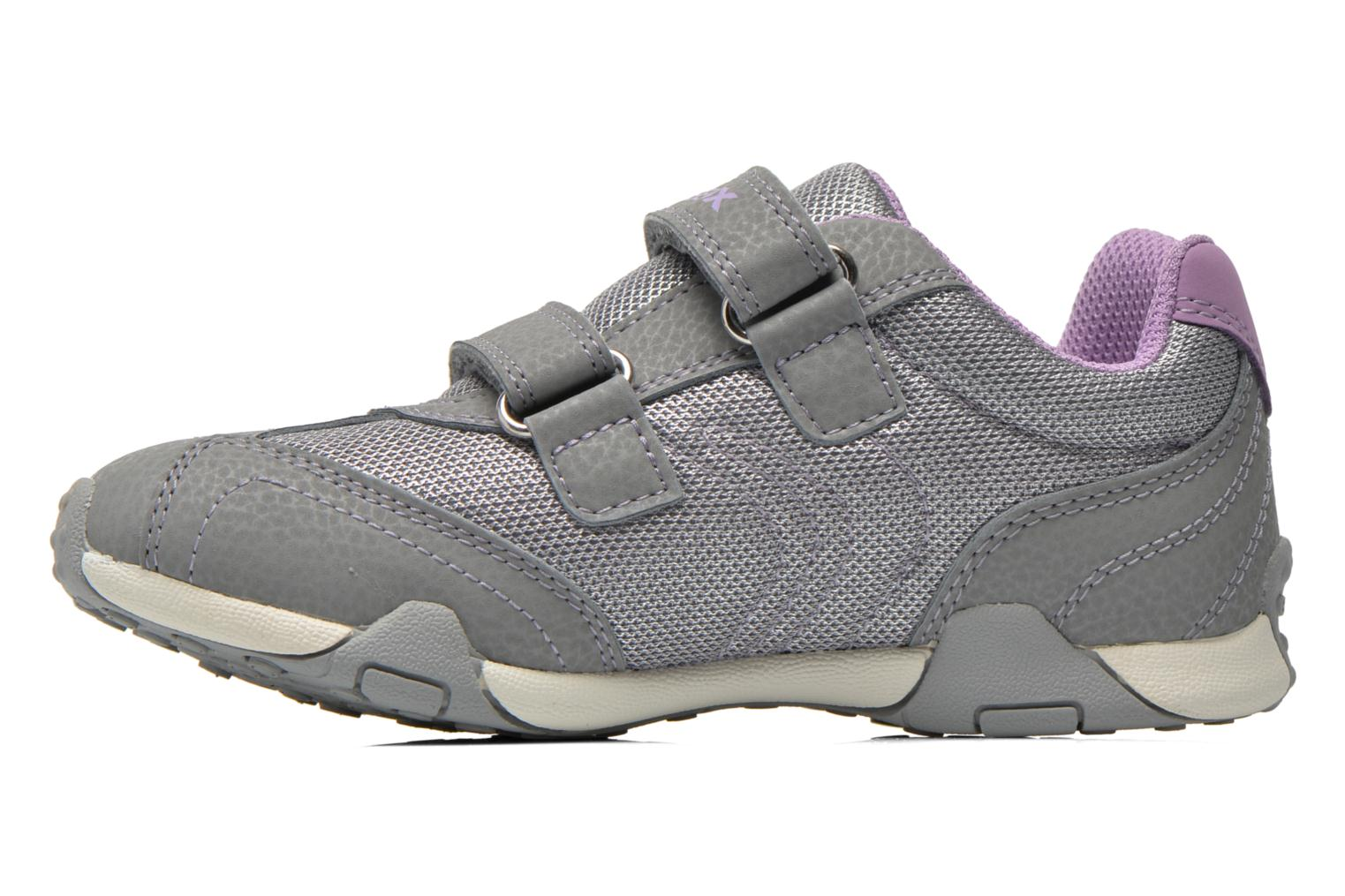 Trainers Geox J Tale A J6221A Grey front view