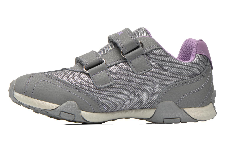 Sneaker Geox J Tale A J6221A grau ansicht von vorne