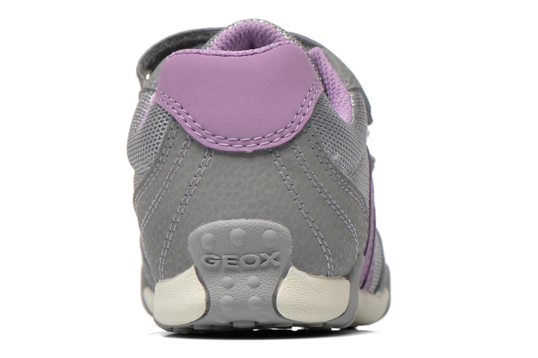 Sneaker Geox J Tale A J6221A grau ansicht von rechts