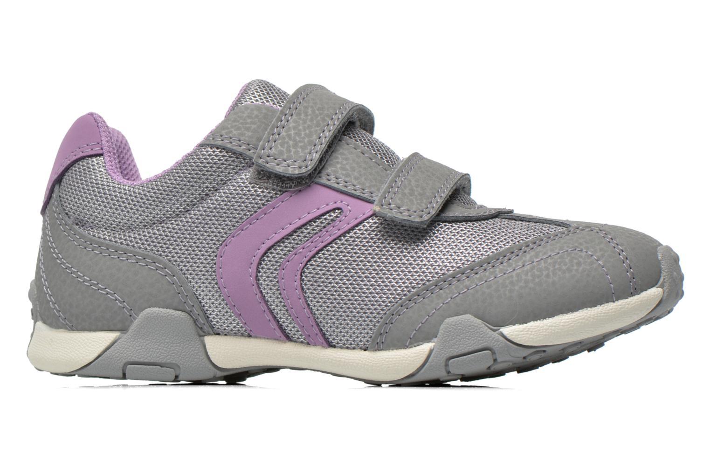 Sneaker Geox J Tale A J6221A grau ansicht von hinten