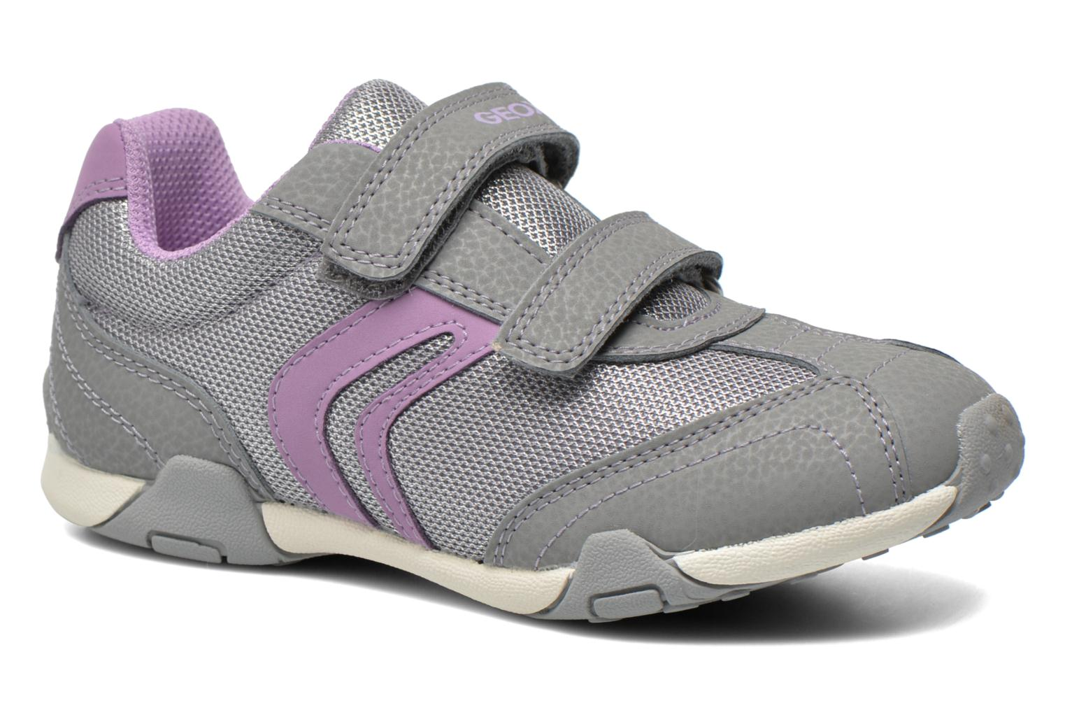 Trainers Geox J Tale A J6221A Grey detailed view/ Pair view