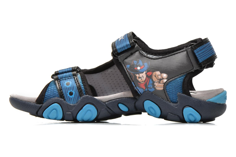 Sandales et nu-pieds Geox J Sand.Strike A J6224A Bleu vue face