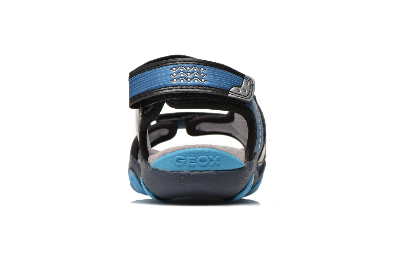 Sandales et nu-pieds Geox J Sand.Strike A J6224A Bleu vue droite