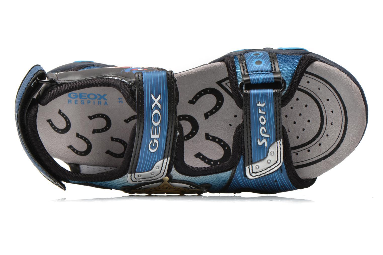 Sandales et nu-pieds Geox J Sand.Strike A J6224A Bleu vue gauche