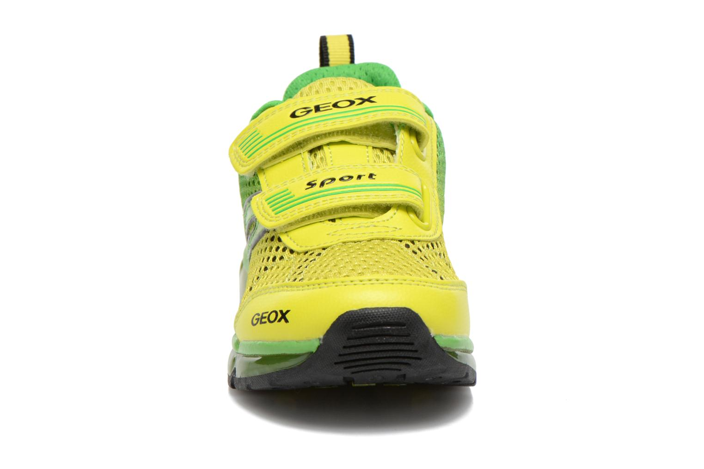 Sneaker Geox J Android B. C J6244C grün schuhe getragen
