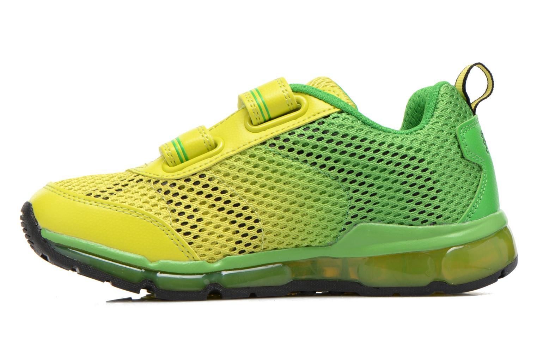 Sneaker Geox J Android B. C J6244C grün ansicht von vorne
