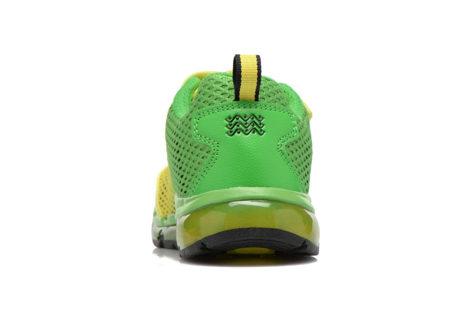 Trainers Geox J Android B. C J6244C Green view from the right