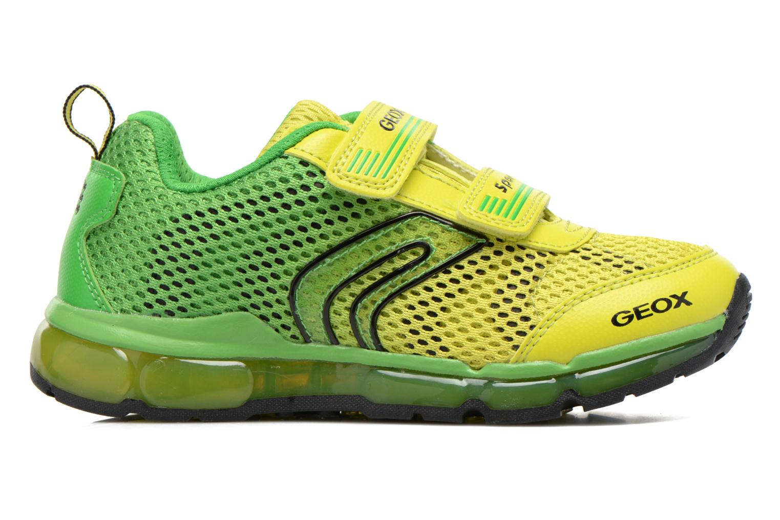 Trainers Geox J Android B. C J6244C Green back view
