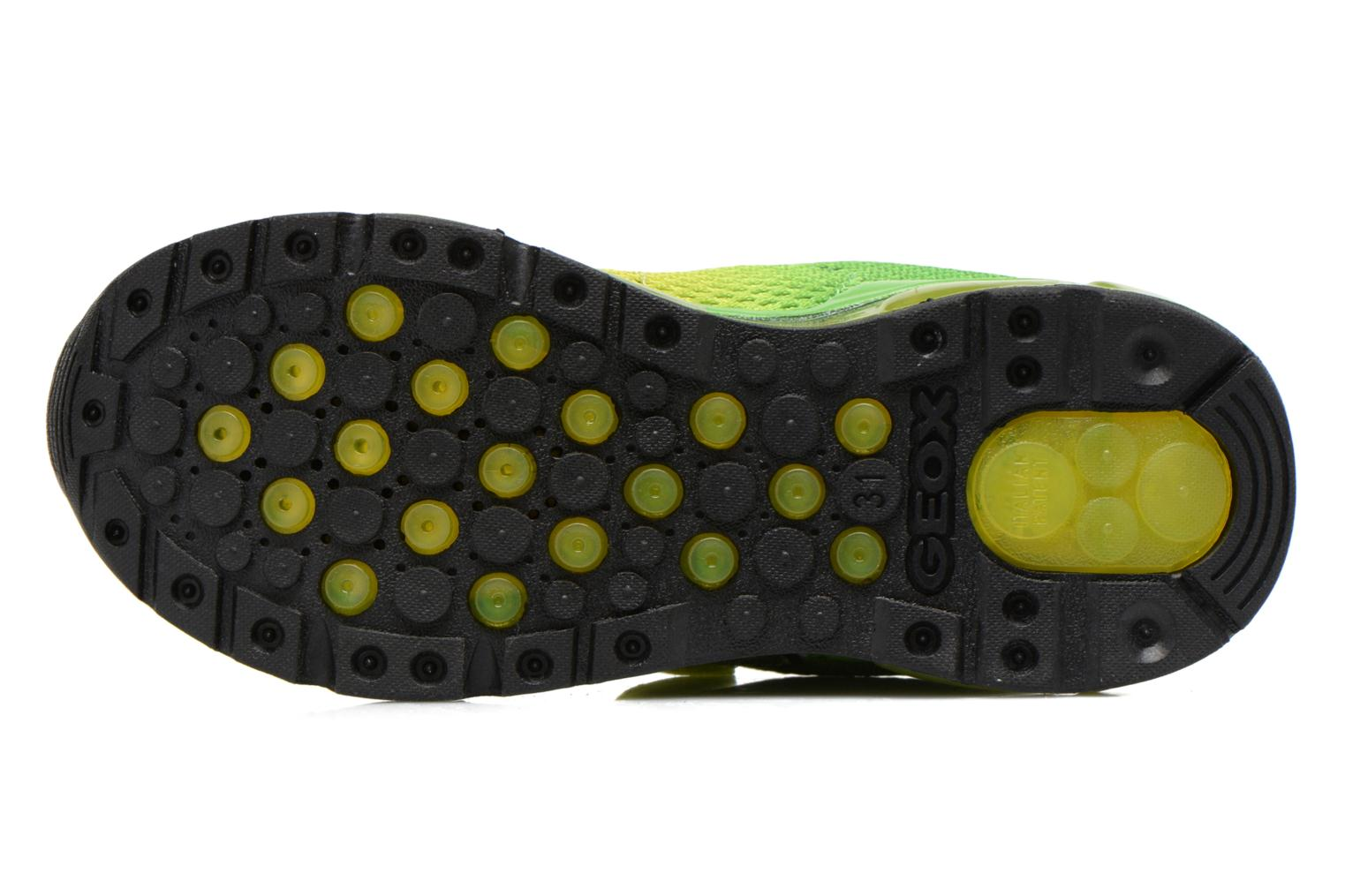 Trainers Geox J Android B. C J6244C Green view from above