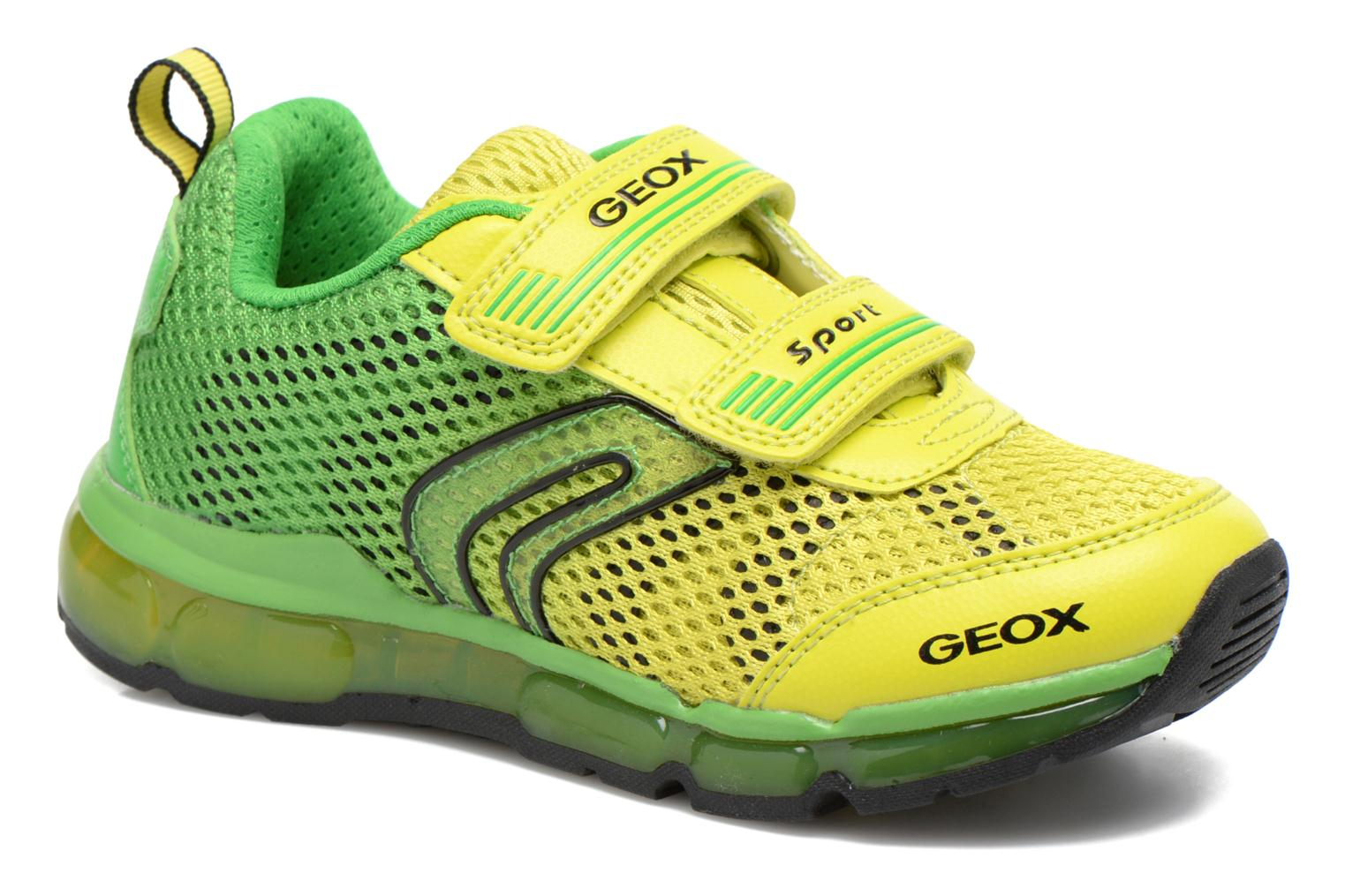 Trainers Geox J Android B. C J6244C Green detailed view/ Pair view