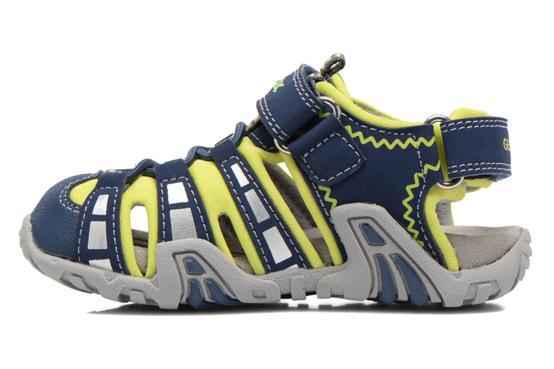 Sandalen Geox B Sandal Kraze B B6224B Blauw voorkant