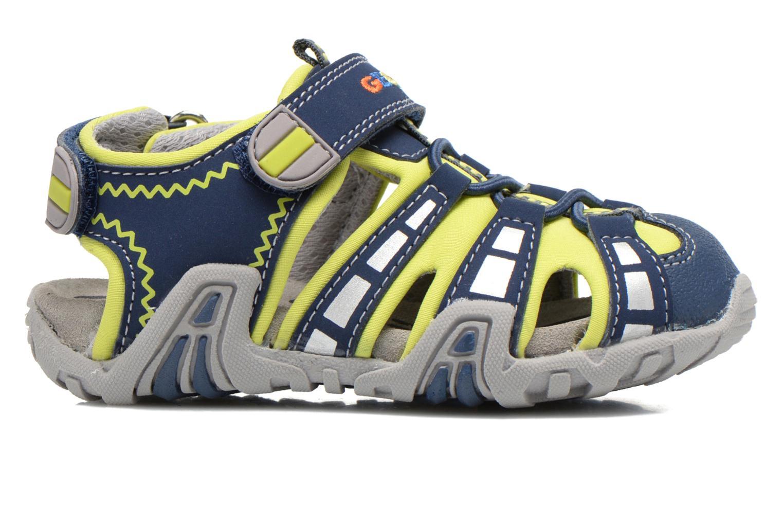 Sandali e scarpe aperte Geox B Sandal Kraze B B6224B Azzurro immagine posteriore