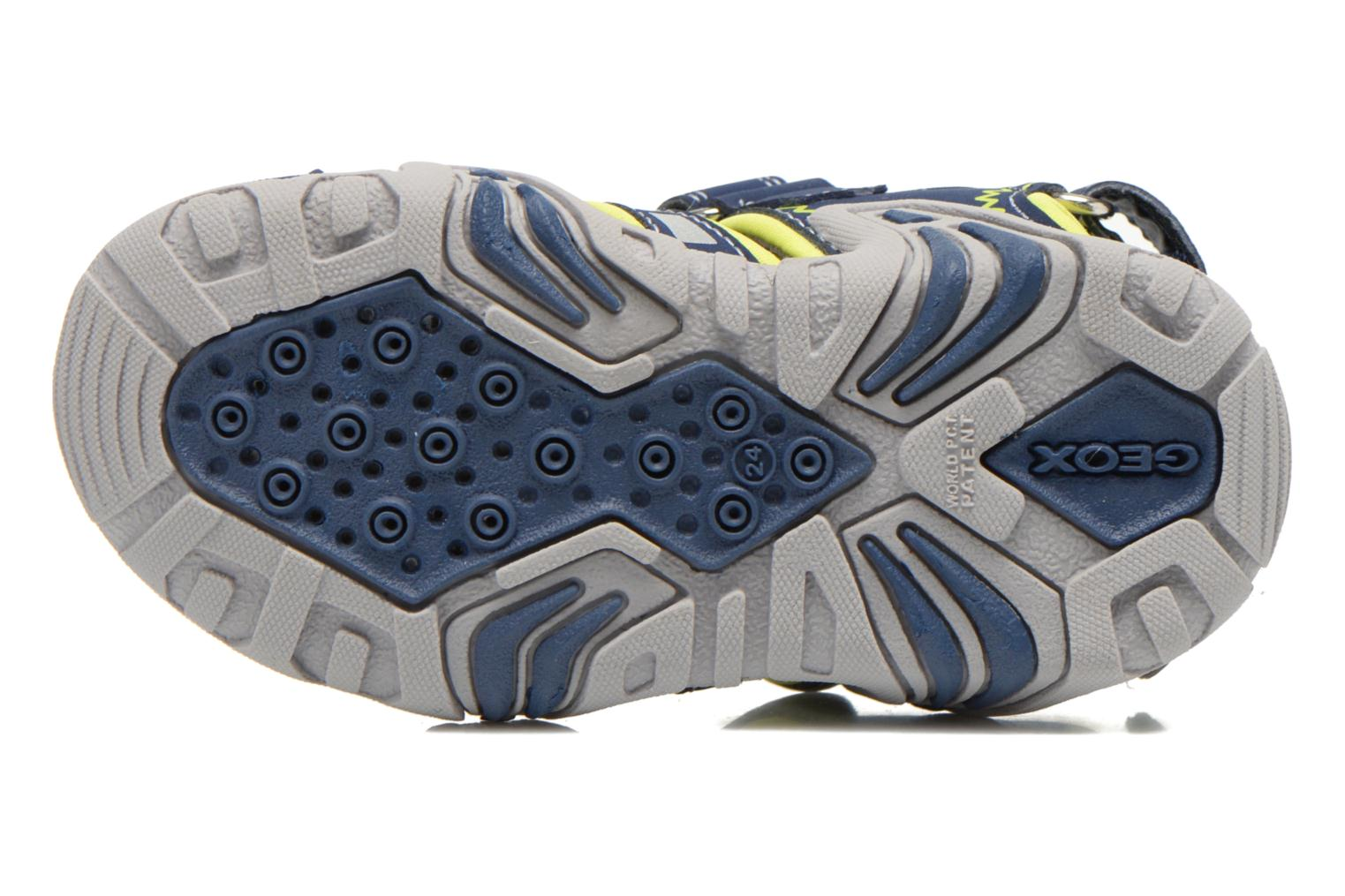 Sandals Geox B Sandal Kraze B B6224B Blue view from above