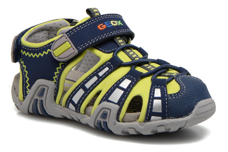Sandalen Geox B Sandal Kraze B B6224B blau detaillierte ansicht/modell