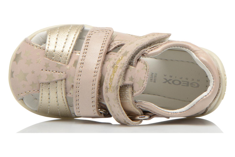 Sandales et nu-pieds Geox B Kaytan G. G B5251G Beige vue gauche