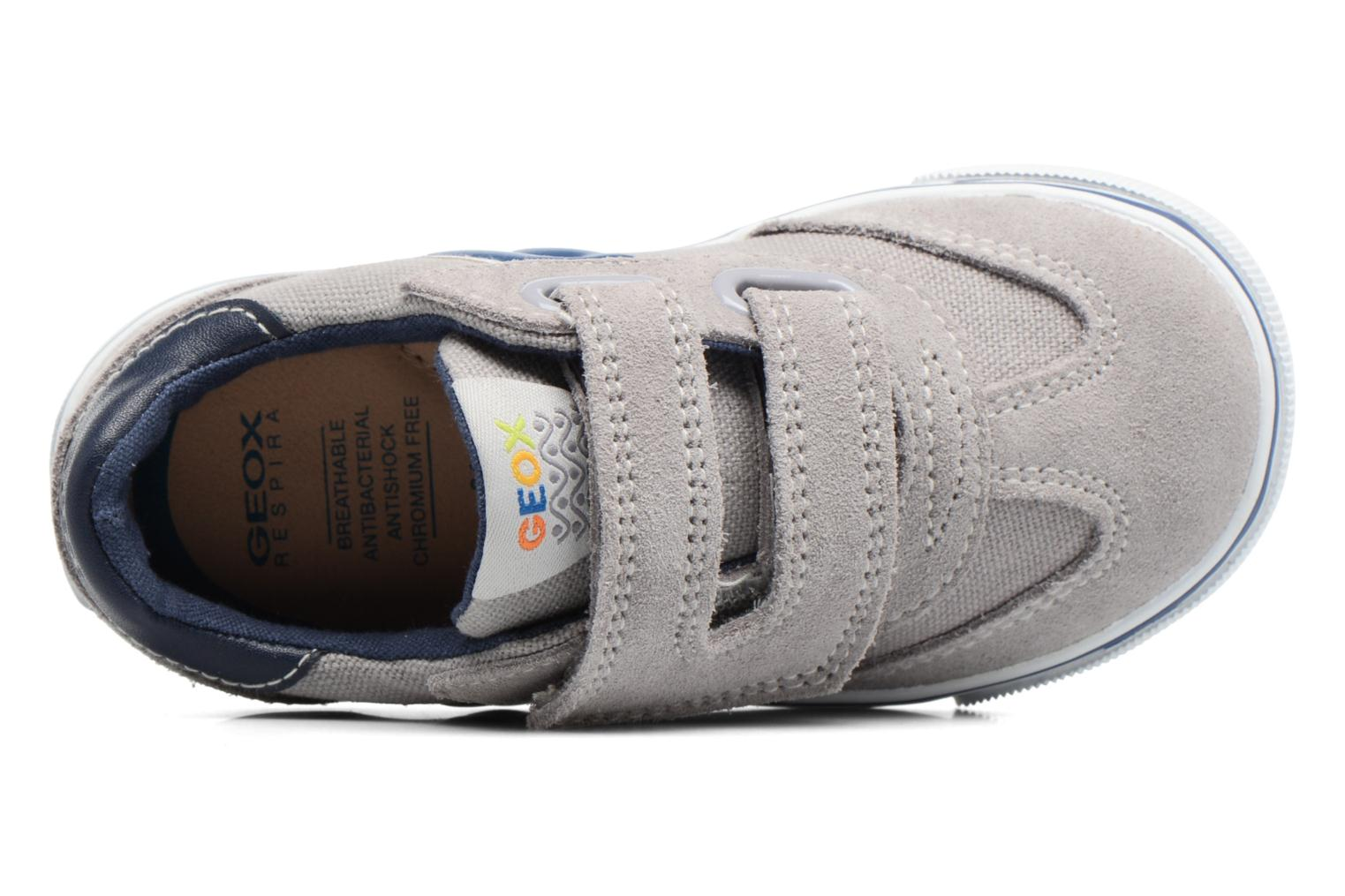 Trainers Geox B Kiwi B. E B62A7E Grey view from the left