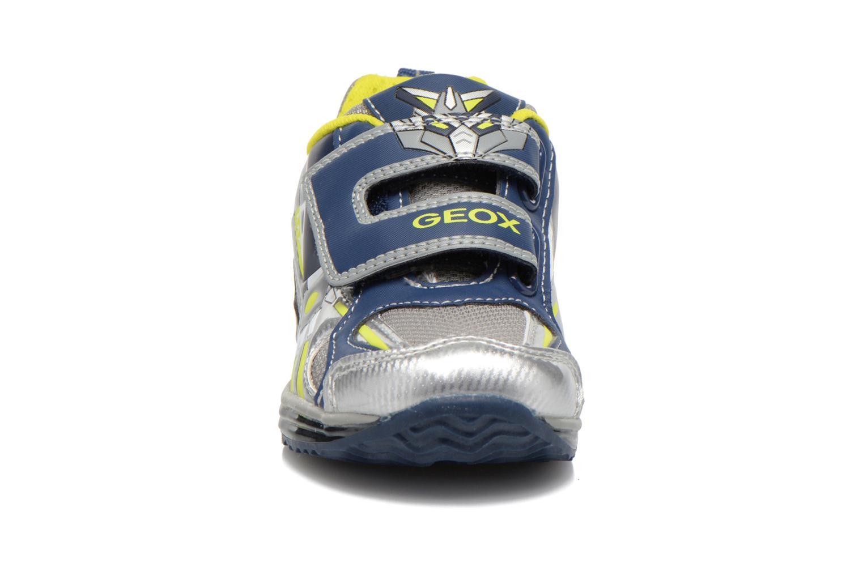 Baskets Geox B TODO B. A B6284A Gris vue portées chaussures