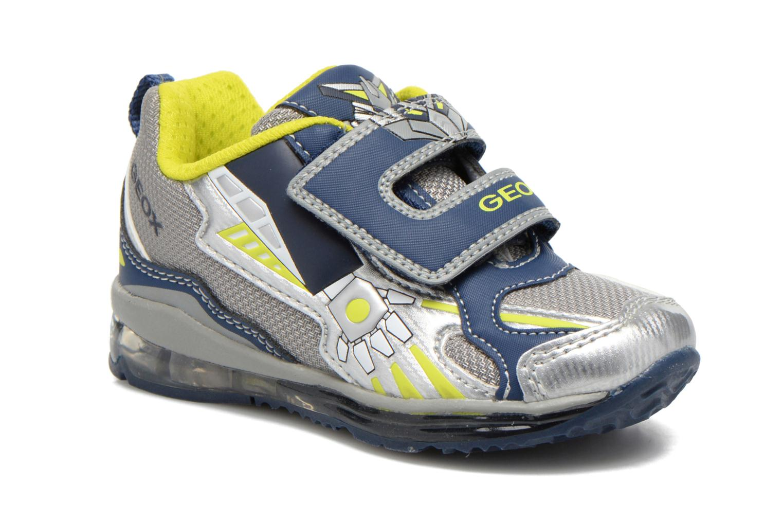 Trainers Geox B TODO B. A B6284A Grey detailed view/ Pair view