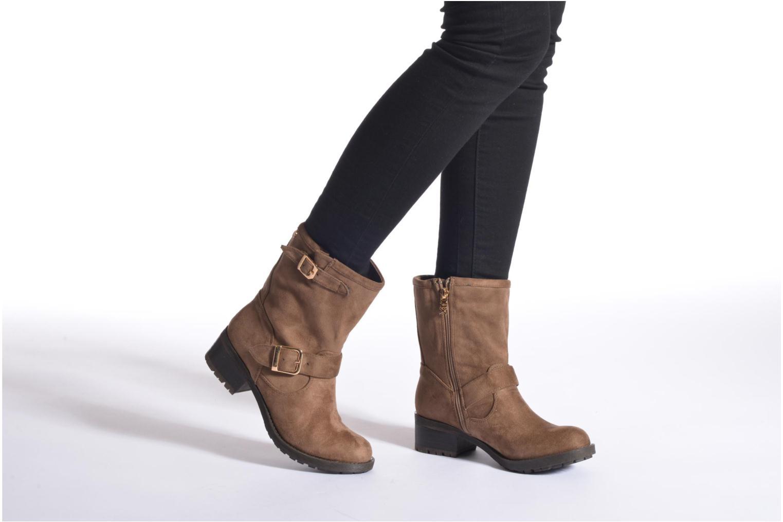 Bottines et boots Xti Rangiroa Marron vue bas / vue portée sac