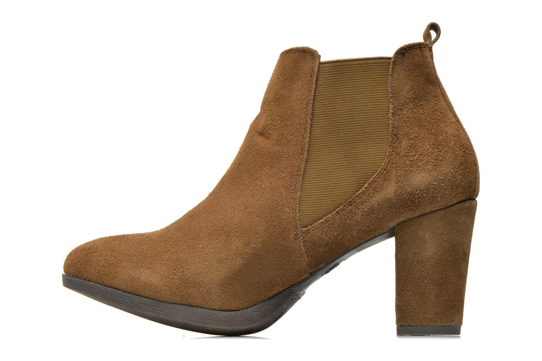 Boots en enkellaarsjes Xti Nargana Bruin voorkant