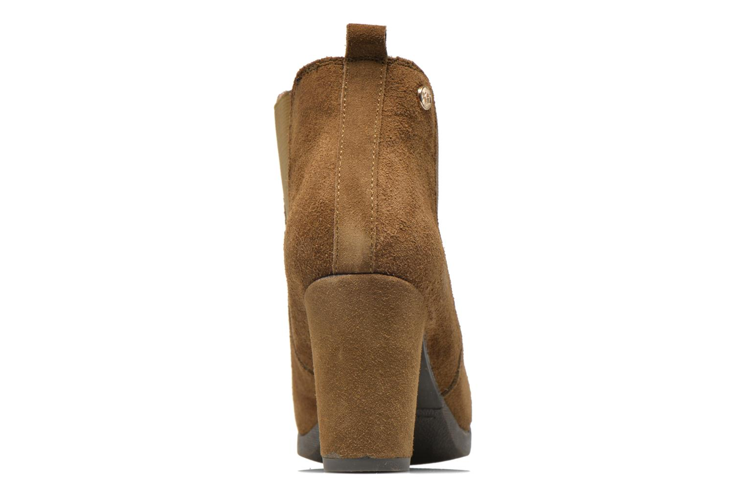 Ankle boots Xti Nargana Brown view from the right