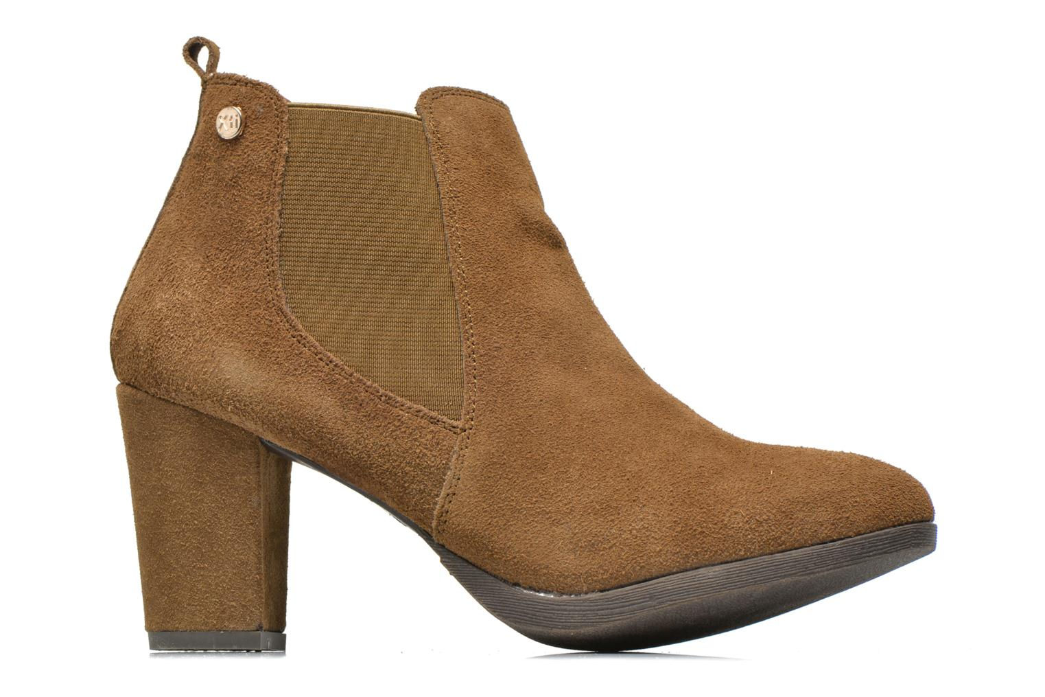 Ankle boots Xti Nargana Brown back view