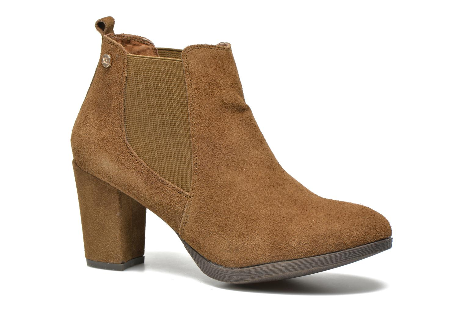 Ankle boots Xti Nargana Brown detailed view/ Pair view