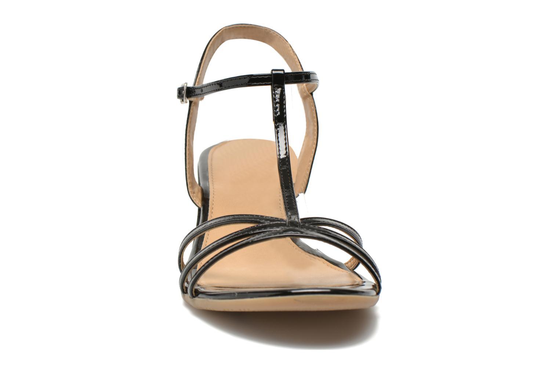 Sandales et nu-pieds Jonak Rozie Noir vue portées chaussures