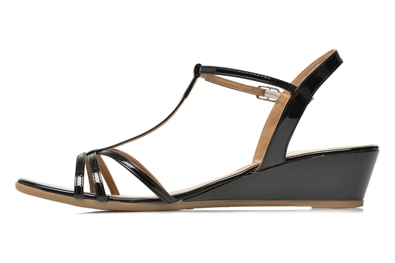 Sandales et nu-pieds Jonak Rozie Noir vue face