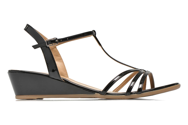 Sandales et nu-pieds Jonak Rozie Noir vue derrière