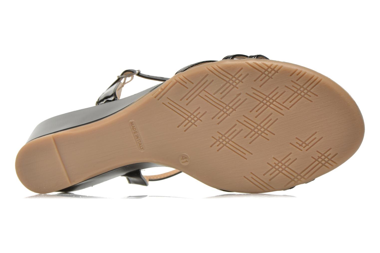 Sandales et nu-pieds Jonak Rozie Noir vue haut
