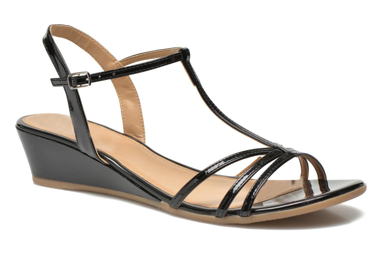 Sandales et nu-pieds Jonak Rozie Noir vue détail/paire