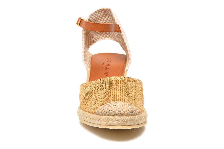 Sandales et nu-pieds Jonak Solange Or et bronze vue portées chaussures