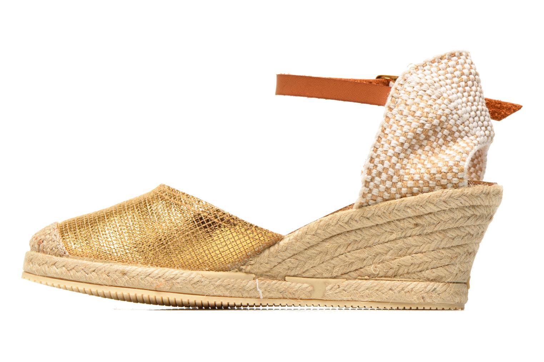 Sandales et nu-pieds Jonak Solange Or et bronze vue face