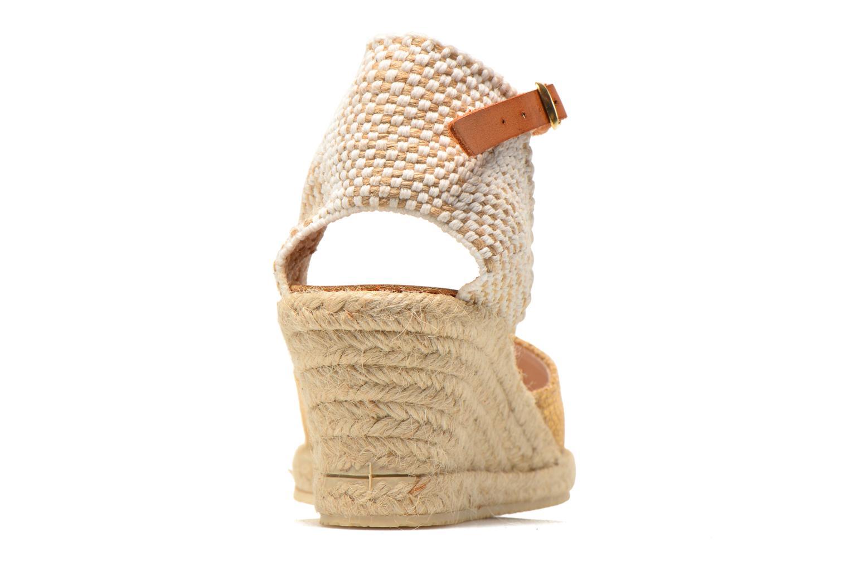 Sandales et nu-pieds Jonak Solange Or et bronze vue droite