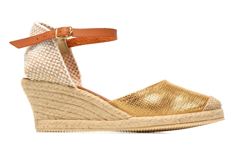 Sandales et nu-pieds Jonak Solange Or et bronze vue derrière
