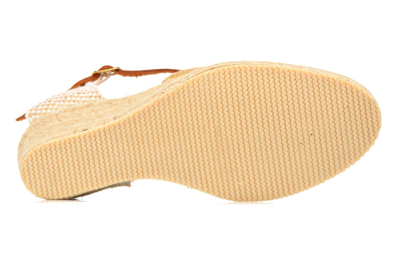 Sandales et nu-pieds Jonak Solange Or et bronze vue haut