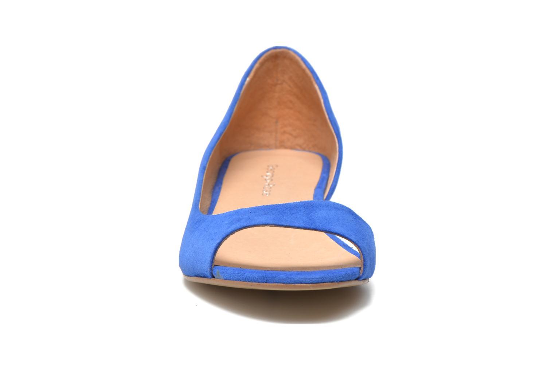 Ballet pumps Georgia Rose Emoto Blue model view