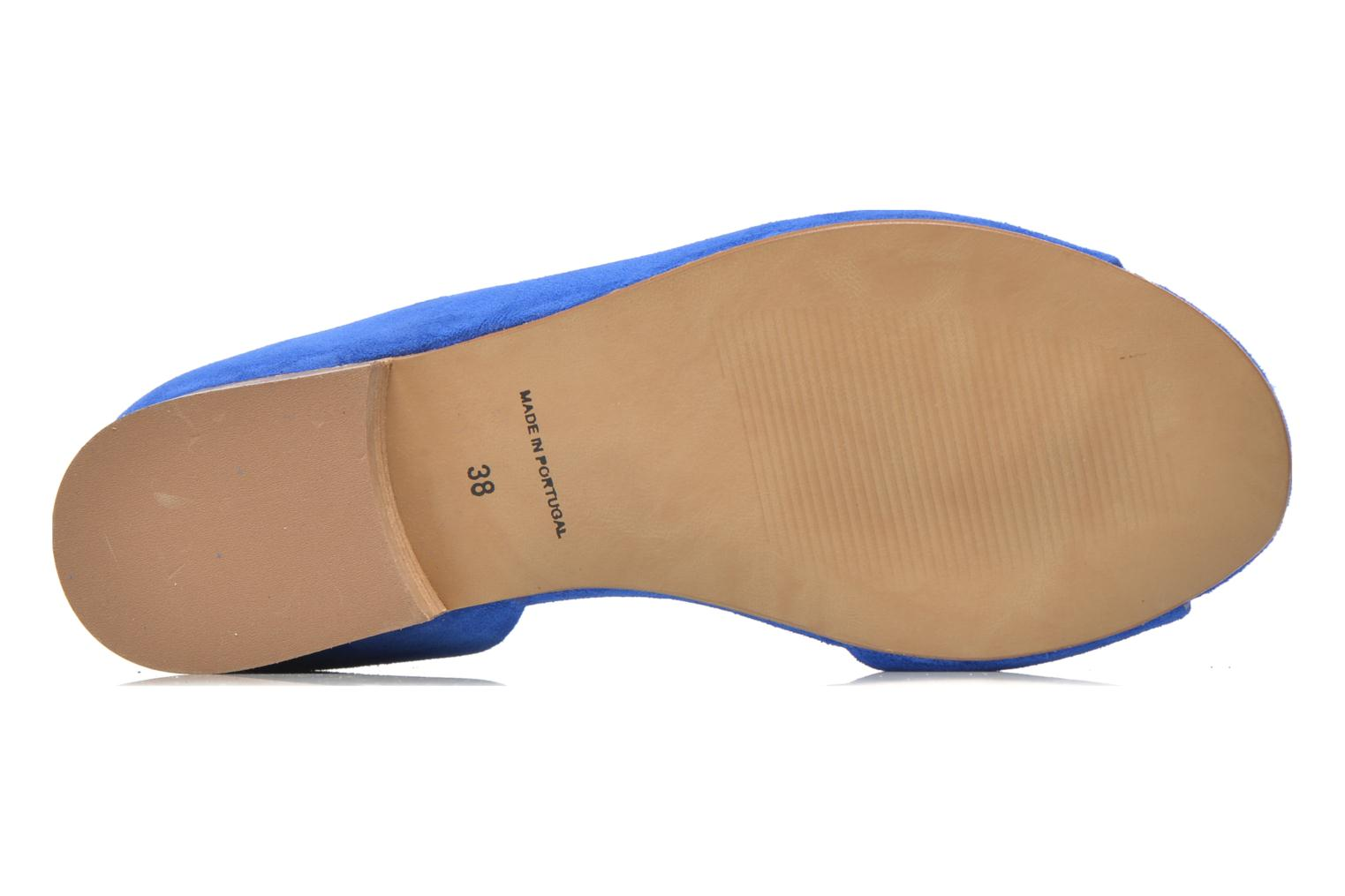 Ballet pumps Georgia Rose Emoto Blue view from above