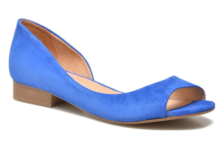 Ballet pumps Georgia Rose Emoto Blue detailed view/ Pair view
