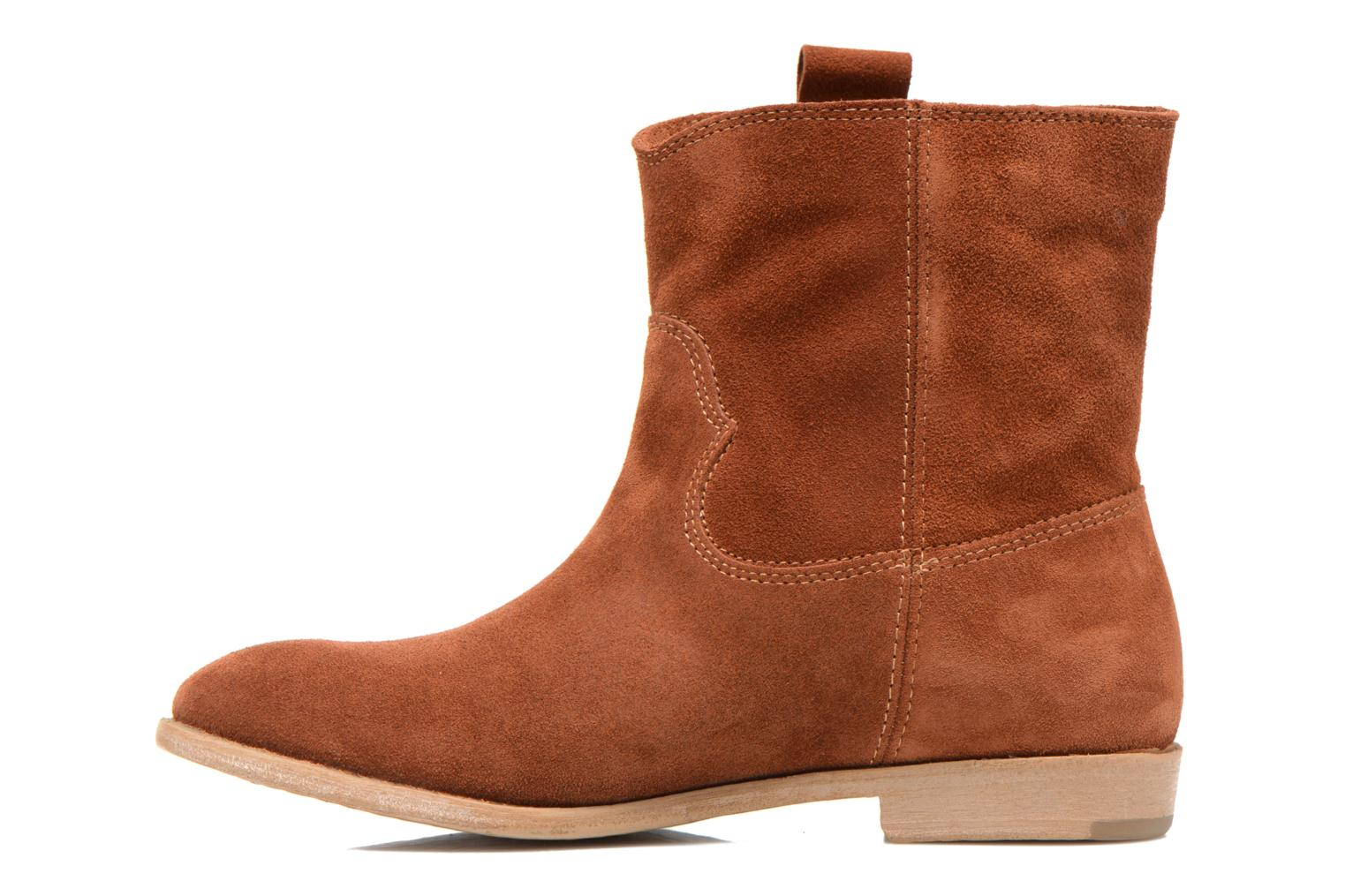 Ankle boots Tamaris Selina Brown front view